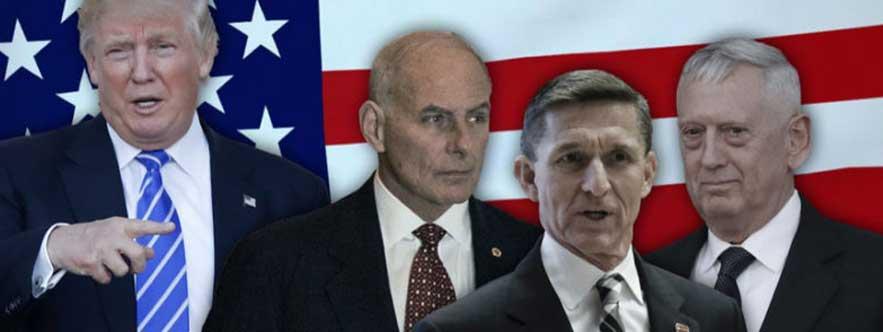 Les généraux de Trump, confesseurs du Président et gardiens de la cité