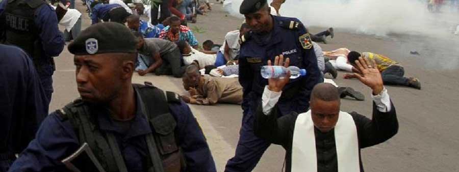 Au Congo de Kabila, on réprime bien les catholiques