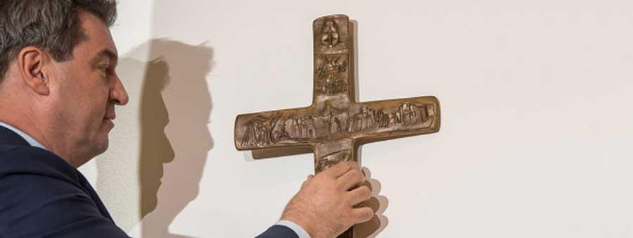 Des crucifix dans les bâtiments publics en Bavière